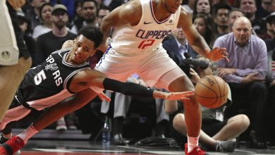 Photo of Clippers remontan y vencen a Spurs 113-110