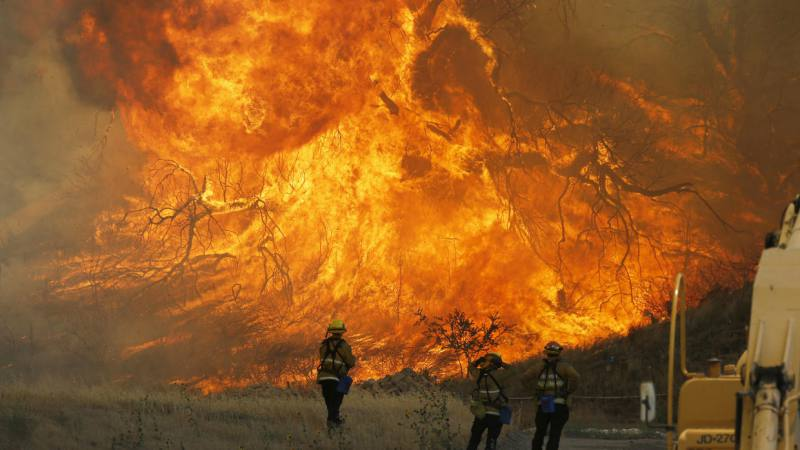 Photo of Incendio forestal azota norte de California