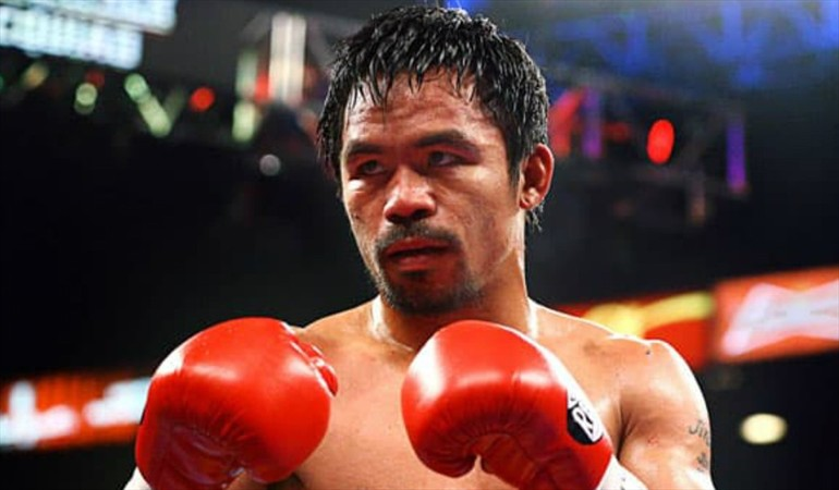 Photo of En subasta | Pacquiao dona short para obra benéfica