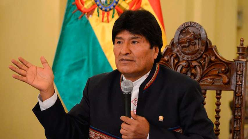 Photo of ALBA denuncia inhabilitación de candidatura de Evo Morales