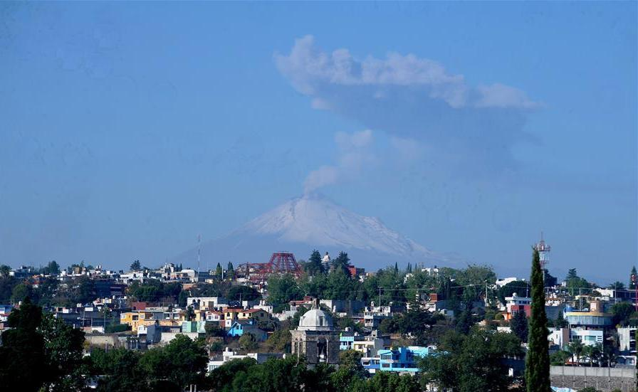 Photo of Volcán Popocatépetl de México emite 120 exhalaciones