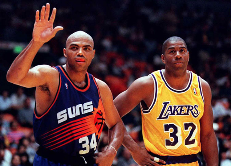 Suns y Lakers