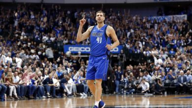 Photo of Dirk Nowitzki, canasta y despedido de la NBA