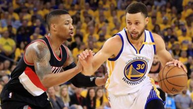 Photo of Warriors y Blazers prenden la candela