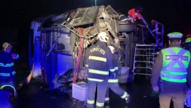 Photo of Seis muertos y 40 heridos en accidente de autobús en Chile