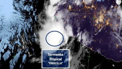 Photo of Se forma tormenta tropical Priscilla y se dirige a costas mexicanas de Colima