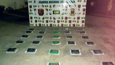 Photo of GNB incauta 27 panelas de cocaína en Adícora