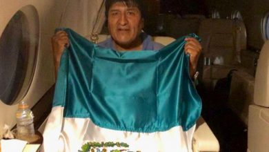 Photo of Evo Morales partió para México