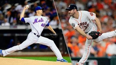 Photo of Jacob deGrom y Justin Verlander, galardonados con Premio «Cy Young»