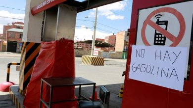 Photo of Escasean gasolina y alimentos por crisis en Bolivia
