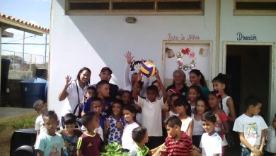 Photo of Indercol entrega kit deportivo a escuela Los Bosteros