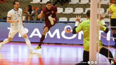 Photo of Vinotinto futsal no pudo y cae 2-1 ante Argentina