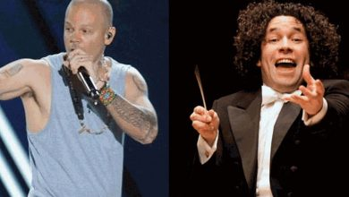 Photo of Residente y Dudamel juntos en un mismo escenario