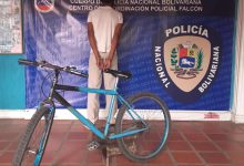 Photo of PNB detiene a hombre por hurto de bicicleta en Coro