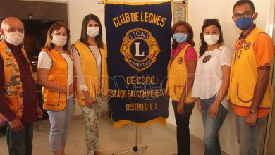 Photo of Club de Leones de Coro, más de cinco décadas de servicio