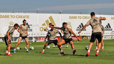 Photo of Real Madrid volvió a los entrenamientos grupales