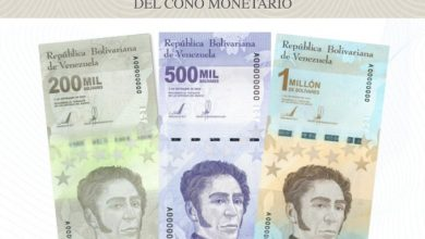 Photo of BCV incorpora tres nuevos billetes para ampliar Cono Monetario